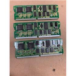 (3) Fanuc A20B-2900-0430 Daughter Boards
