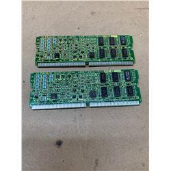 (2) Fanuc A20B-2900-0610/02B Daughter Boards