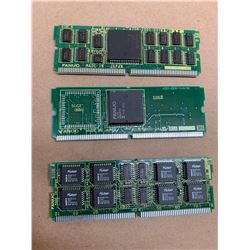 (3) Fanuc Daughter Boards *See Pics for Part Numbers*