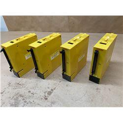 (4) Fanuc A03B-0807-C109 AID32F2 Digital Input Module