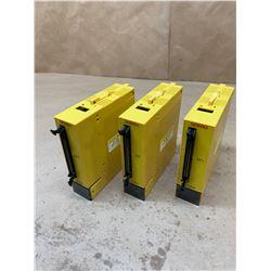(3) Fanuc A03B-0807-C109 AID32F2 Digital Input Module