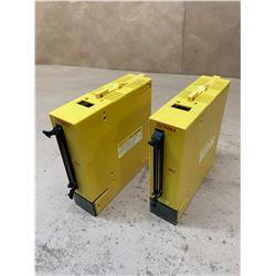 (2) Fanuc A03B-0807-C109 AID32F2 Digital Input Module
