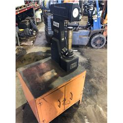 Rockwell Hardness Tester w/Stand