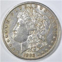 1883-CC MORGAN DOLLAR AU