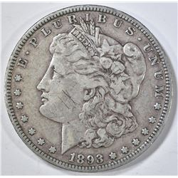 1893 MORGAN DOLLAR FINE