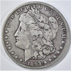 1893-O MORGAN DOLLAR F/VF
