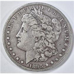 1895-O MORGAN DOLLAR VF