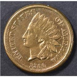 1860 INDIAN HEAD CENT   UNC