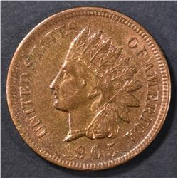1905 INDIAN HEAD CENT  BU