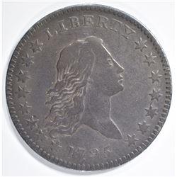 1795 FLOWING HAIR HALF DOLLAR  VF/XF