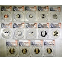 2011-S 14-COIN PROOF SET  ANACS PR-70 DCAM
