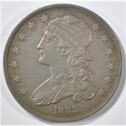 1835 BUST QUARTER  AU