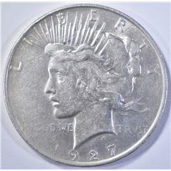 1927-D PEACE DOLLAR  CU AU