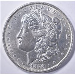 1878 8 TF MORGAN DOLLAR AU/BU