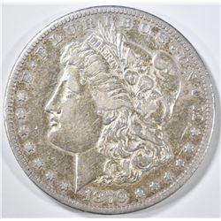 1879-CC MORGAN DOLLAR  XF/AU