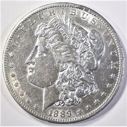 1889-S MORGAN DOLLAR  CH AU