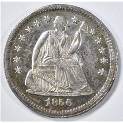 1856 SEATED LIBERTY HALF DIME XF