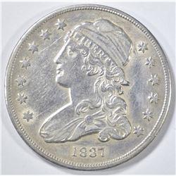 1837 BUST QUARTER  AU