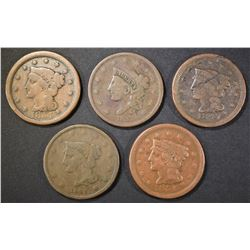 LARGE CENT LOT;