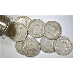 EARLY FRANKLIN CIRC HALF DOLLARS