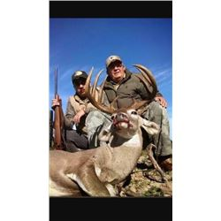 Mule Deer and Coues Deer Combo Hunt in Sonora Mexico For Two Hunters 2020