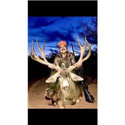 Mule Deer Hunt in Sonora Mexico 2021