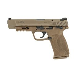 "S& W M& P 2.0 9MM 5"" 17RD FDE NMS TS"