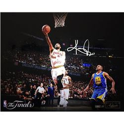 Kyrie Irving Signed LE Cavaliers  Finish  NBA Finals 16x20 Photo (Panini COA)