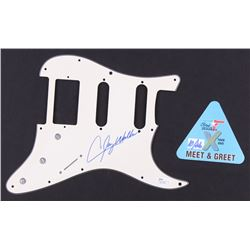 Clay Walker Signed Electric Guitar Pickguard With Meet  Greet Pass (JSA Hologram)