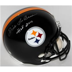 "Dick LeBeau Signed Steelers Full-Size Helmet Inscribed ""HOF 2010"" (Radtke COA)"
