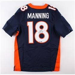 Peyton Manning Signed Broncos Jersey (Steiner COA  Fanatics Hologram)