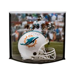 """Jason Taylor Signed LE Dolphins Full-Size Authentic Pro-Line Helmet Inscribed """"HOF 17"""" with Curve Di"""