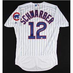 Kyle Schwarber Signed Cubs Jersey (MLB Hologram)