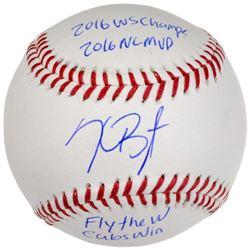 Kris Bryant Signed LE Baseball with (4) Inscriptions (MLB  Fanatics)