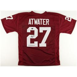"Steve Atwater Signed Arkansas Razorbacks Jersey Inscribed ""2x All-American"" (Radtke COA)"