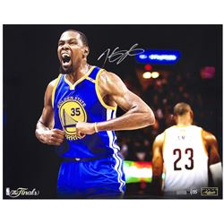 "Kevin Durant Signed Warriors ""Redemption"" 16x20 Limited Edition Photo (Panini COA)"