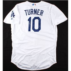 Justin Turner Signed Los Angeles Dodgers Jersey (MLB Hologram)