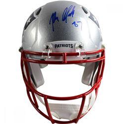 Rob Gronkowski Signed Patriots Full Size Helmet (Steiner COA)