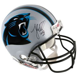 Luke Kuechly Signed Panthers Full-Size Authentic On-Field Helmet (Fanatics Hologram)