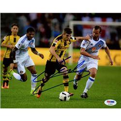Christian Pulisic Signed Dortmund 8x10 Photo (PSA COA)