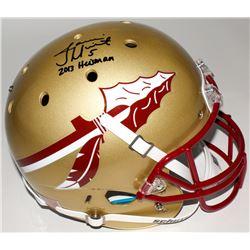 "Jameis Winston Signed Florida State Seminoles Full-Size Helmet Inscribed ""2013 Heisman"" (Winston Hol"