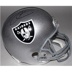 Derek Carr Signed Raiders Full-Size Helmet (Radtke COA)