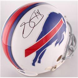Sammy Watkins Signed Bills Full-Size Authentic On-Field Helmet (JSA COA)