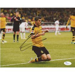 Christian Pulisic Signed Borussia Dortmund 8x10 Photo (JSA COA)