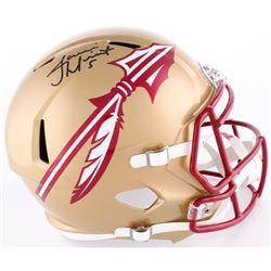 Jameis Winston Signed Florida State Seminoles Full-Size Speed Helmet (Winston Hologram)