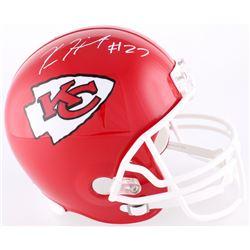 Kareem Hunt Signed Chiefs Full-Size Helmet (Hunt Hologram)