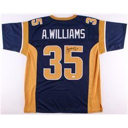 "Aeneas Williams Signed Rams Jersey Inscribed ""HOF '14"" (JSA COA)"