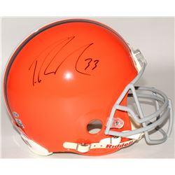Trent Richardson Signed Browns Full-Size Authentic On-Field Helmet (Radtke COA  Richardson Hologram)