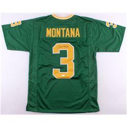 Joe Montana Signed Notre Dame Fighting Irish Jersey (JSA COA)