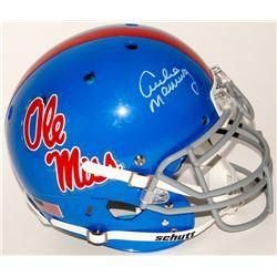 Archie Manning Signed Ole Miss Rebels Full-Size Authentic On-Field Helmet (Radtke COA)